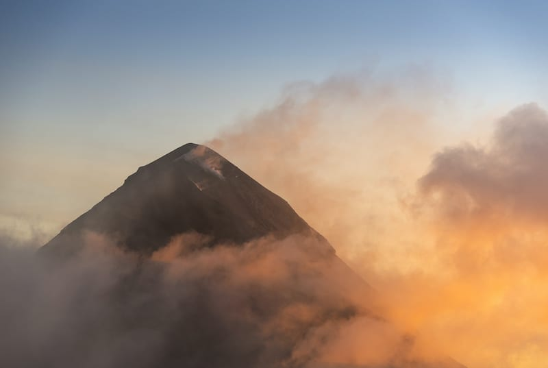 Volcano de Fuego Guatemala. Volcano Treks