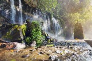Seven waterfalls in Juayua, El Salvador.