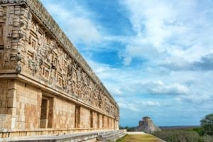 Mayan City of Uxmal in Mexico. Mexico Tours