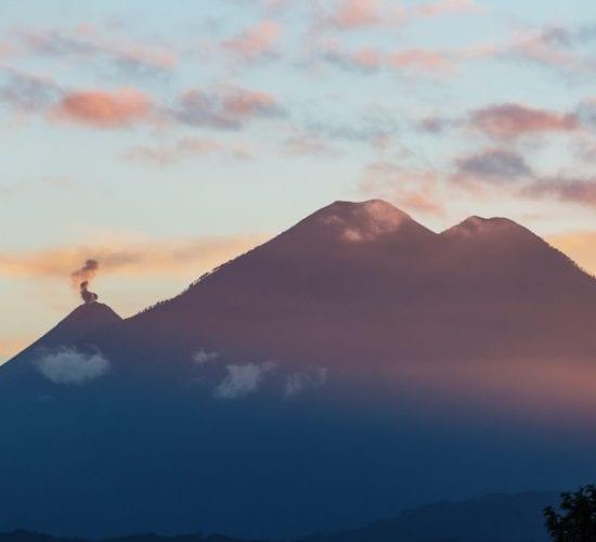 Beautiful volcanoes landscapes. Guatemala Travel Package