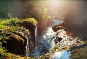 Beautiful natural pools in Semuc Champey. Ecotour in Guatemala. Reasons to visit Guatemala