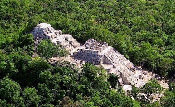 The Mayan site of El Mirador, Guatemala.
